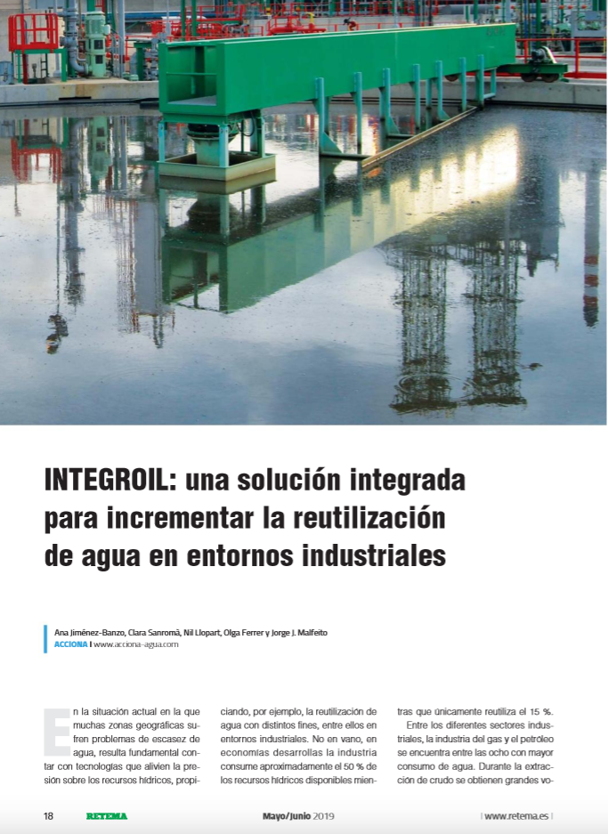 INTEGROIL in n. 215 May-June 2019 of RETEMA magazine