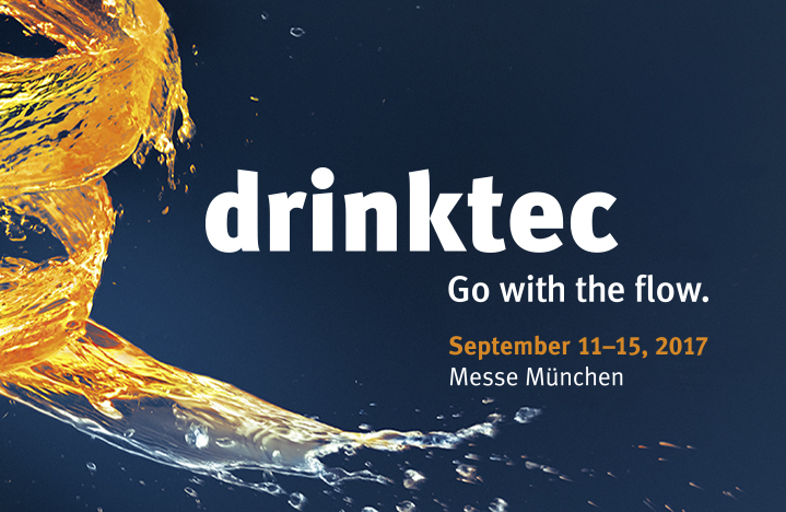 DRINKTEC. Mark your calendar: 11-15 September, Munich (Germany)