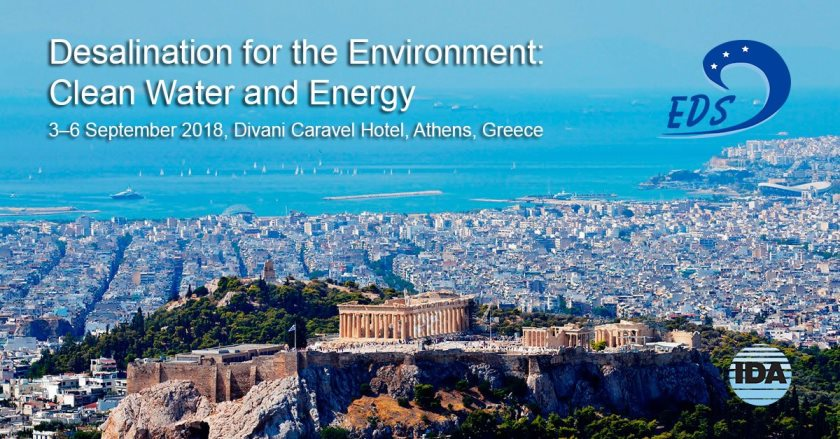 EDS Conference - Desalination for the Environment: Clean Water and Energy.
