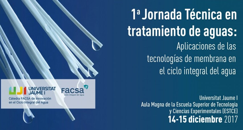 Likuid ceramic membranes in the Technical workshop 'Applications of membrane technologies in the integral water cycle'.