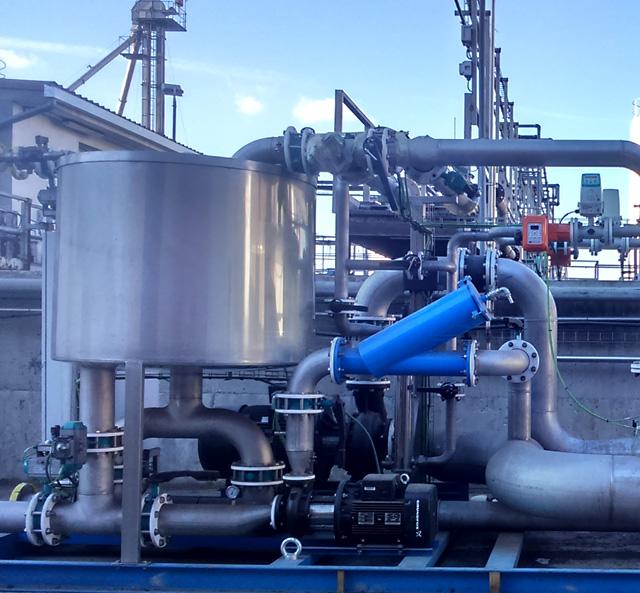Tratamiento y reutilización de aguas residuales en Acesur