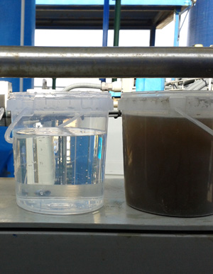 Wastewater treatment and reuse at Acesur