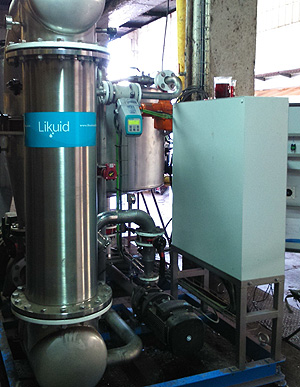 Ultrafiltration and reuse of marc baths